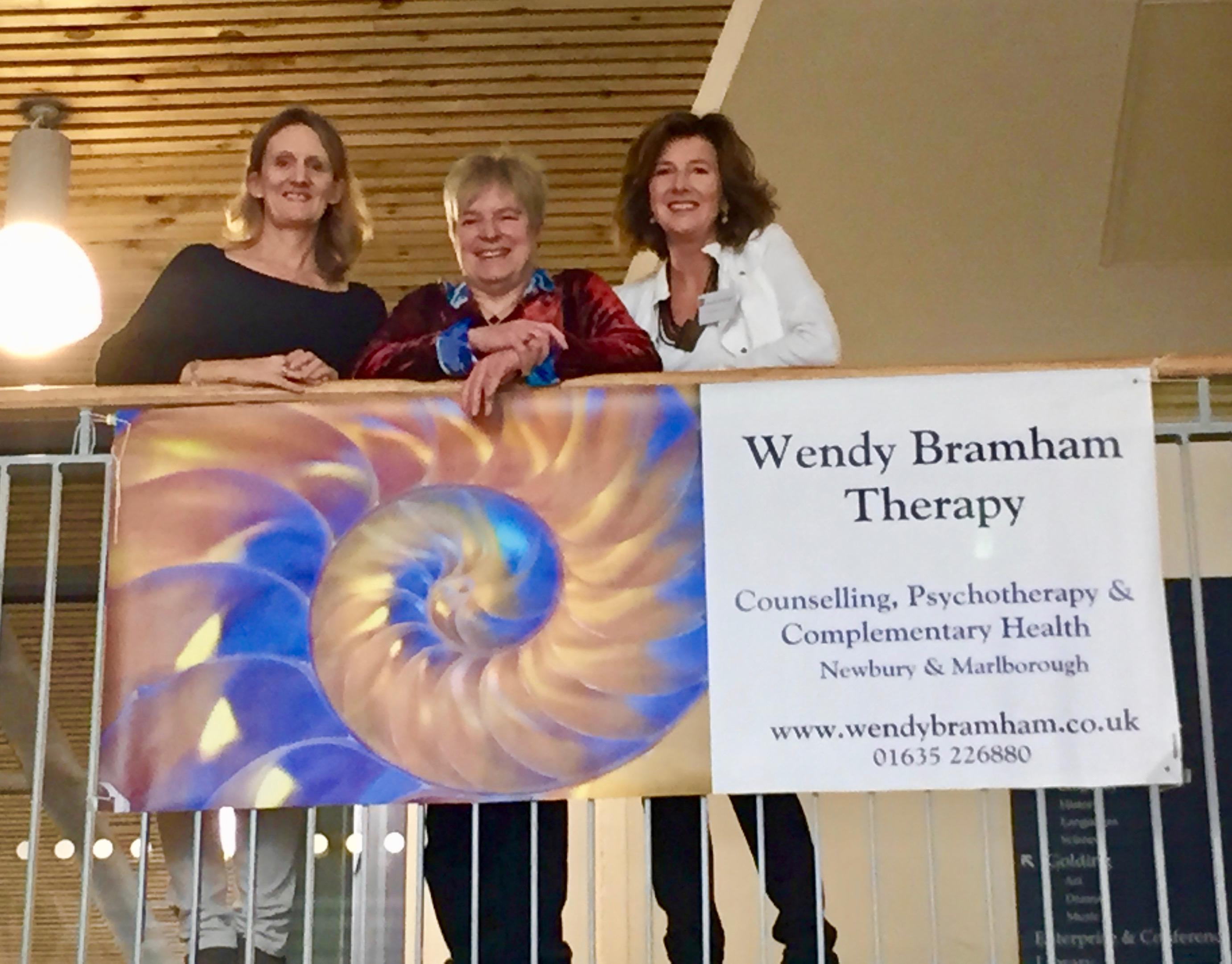 L-R: Briony Martin, Suzie Hayman, Wendy Bramham